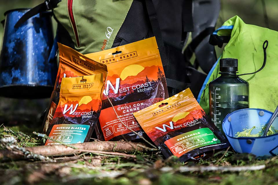 Westcoast Kitchen Freeze Dried Hiking Foods